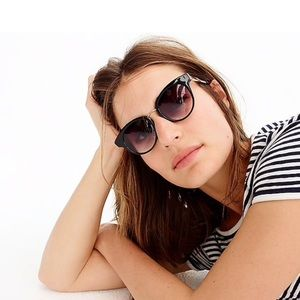 J. Crew Seaside round Cat-eye sunglasses